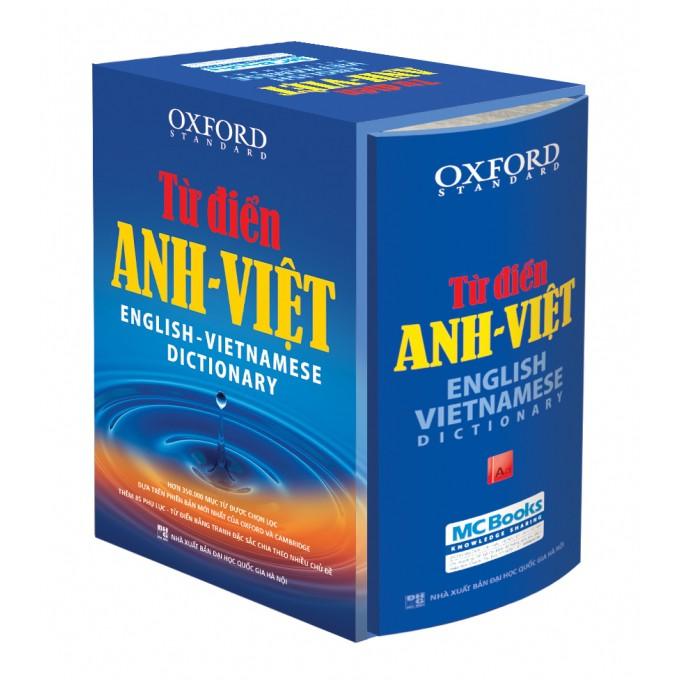 Từ điển Oxford Anh Việt_bìa cứng xanh