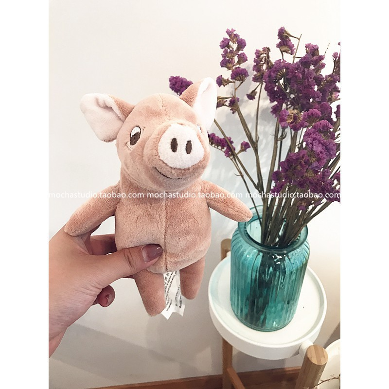 te pig pink pig mini pig cute pig piggy kids soothing doll Plush dolls toys Gift