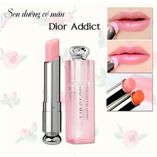 [Hàng Chính Hãng] Son Môi Dior Addict Lip Glow 001 Pink 004 Fullsize Fullbox