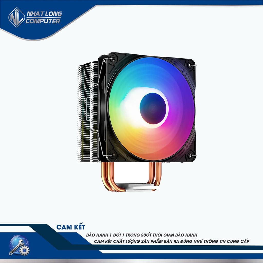 Quạt Tản Nhiệt CPU DeepCool Gammax 400 Led RGB hỗ trợ CPU socket Intel® LGA 115x/1366/1200 AMD®