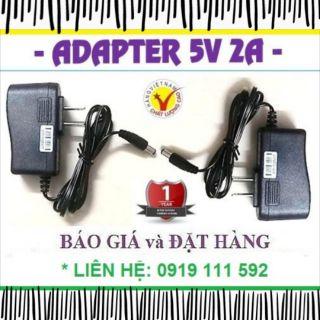 Adapter (nguồn) 5V 2A chân lớn & nhỏ (Hàng 100% Việt Nam chất lượng cao)