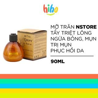 Mỡ trăn triệt lông nguyên chất Nstore tẩy triệt lông, ngừa bỏng muỗi đốt, mụn, phục hồi da – MNC