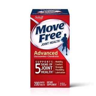 Bổ trợ xương khớp Move Free Joint Health Advanced 200 viên