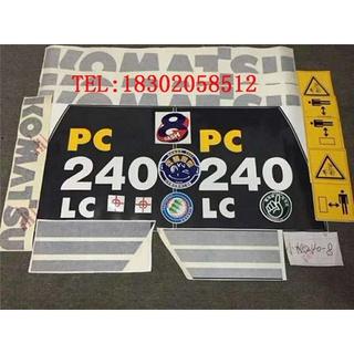 Máy xúc thông nhỏ PC60/70/90/220/240/200/210/270 360-8/7 nhãn dán đầy đủ xe