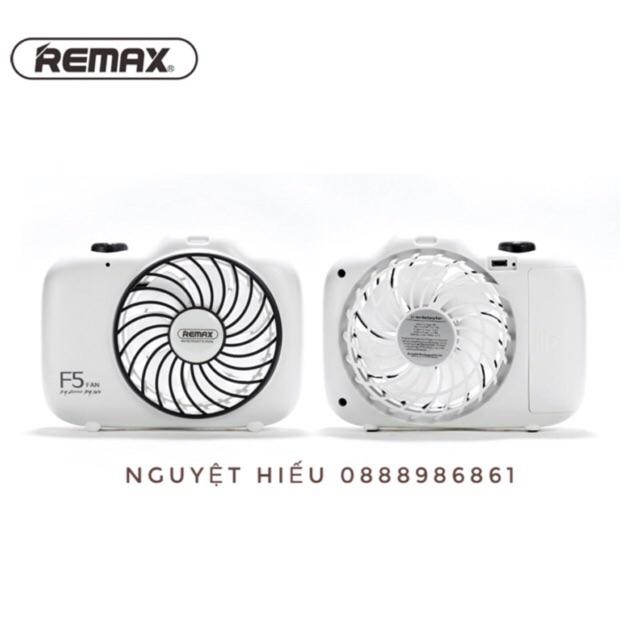 Quạt để bàn hình máy ảnh USB Remax F5 chính hãng