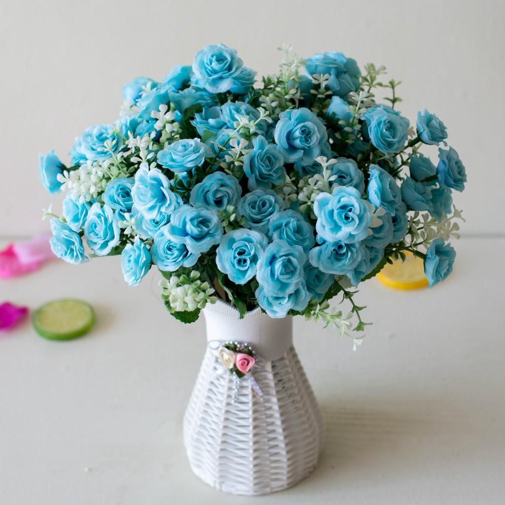 [sale giá tốt] Combo 15 bông hồng nhỏ-6787 [buithuy][nq]