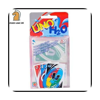 [Freeship] Trò chơi Uno H2O - Uno nhựa chống nước