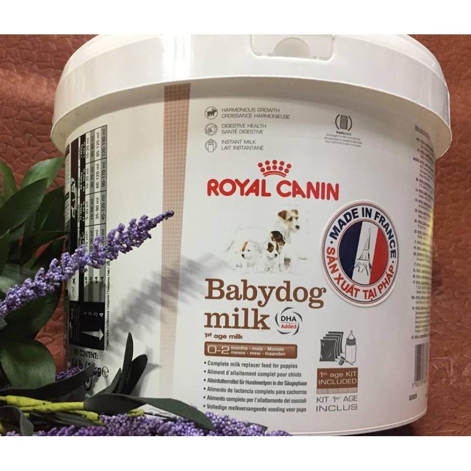 Sữa cho chó con Royal Canin Babydog Milk 2kg