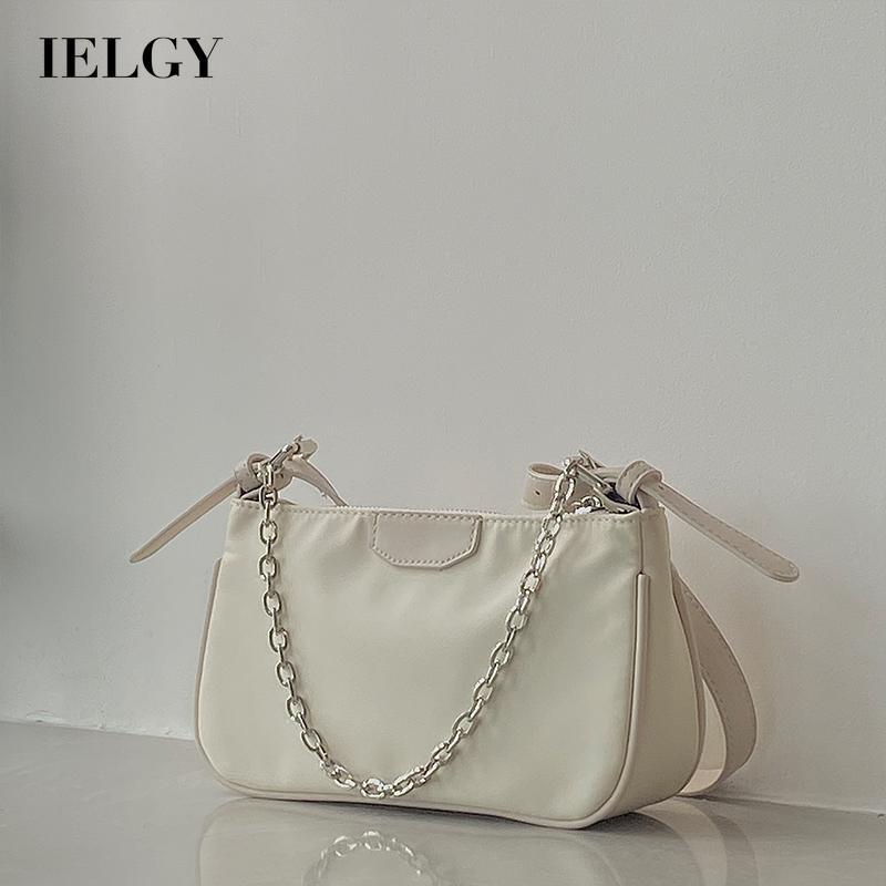 Túi xách đeo vai màu trơn đơn giản thời trang cho nữ