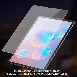 Kính Cường Lực Samsung Galaxy Tab S6 Lite -10.4 Inch (2019- SM-P610/ P615).