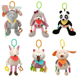 🚀IU Baby🍼 Baby multi-function bed bell bell rabbit doll