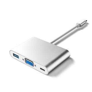 [Mã ELFLASH5 giảm 20K đơn 50K] Cáp chuyển đổi USB Type c sang VGA, USB 3.0, USB C ( USB Type c to VGA )