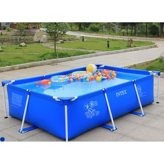 Bể bơi khung kim loại chữ nhật INTEX 28271