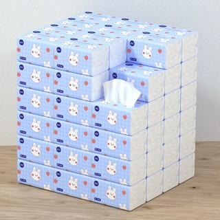 PVN29055 Bịch giấy ăn hình thỏ xinh xắn siêu dai, siêu mềm mịn T2