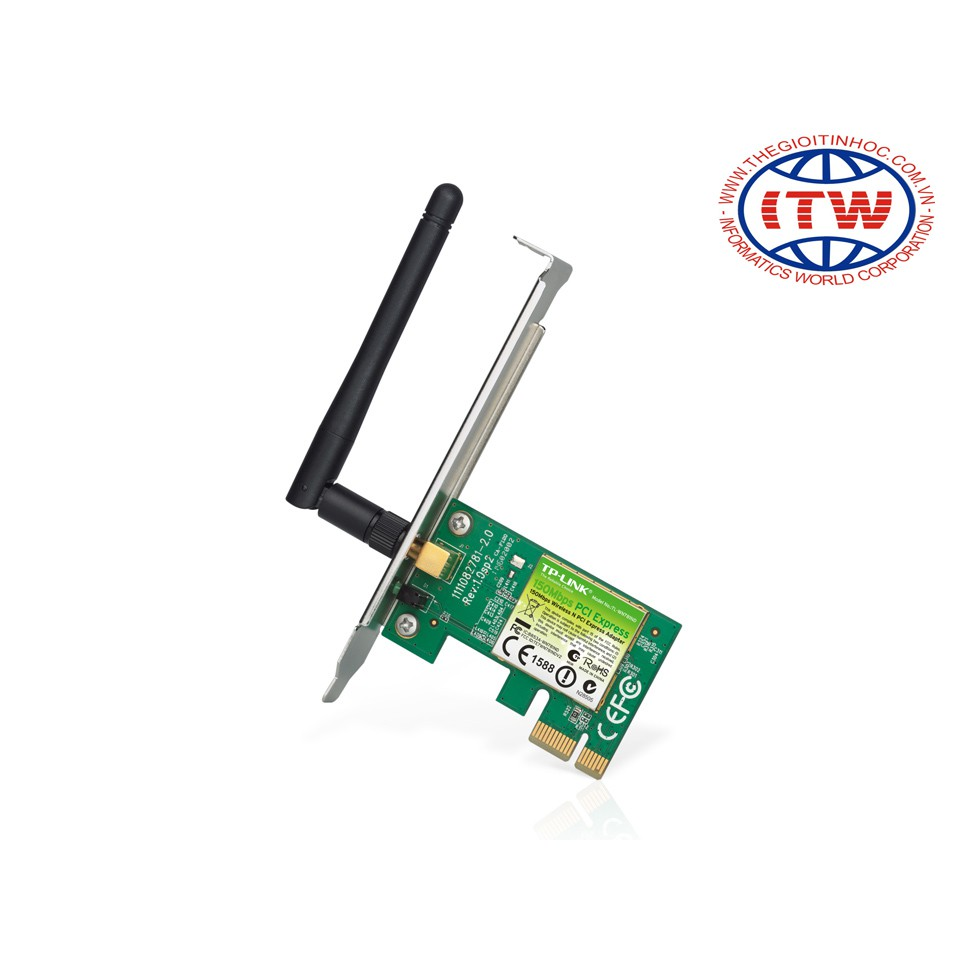 Card mạng không dây TP-Link TL-WN781ND (Đen)