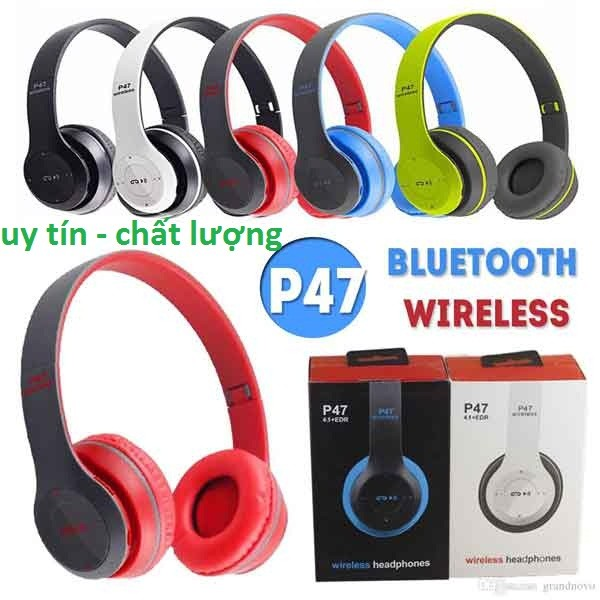 Headphone Bluetooth P47 Cao Cấp