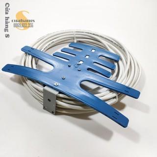 Anten bọc nhựa xanh kèm dây - thu sóng tốt