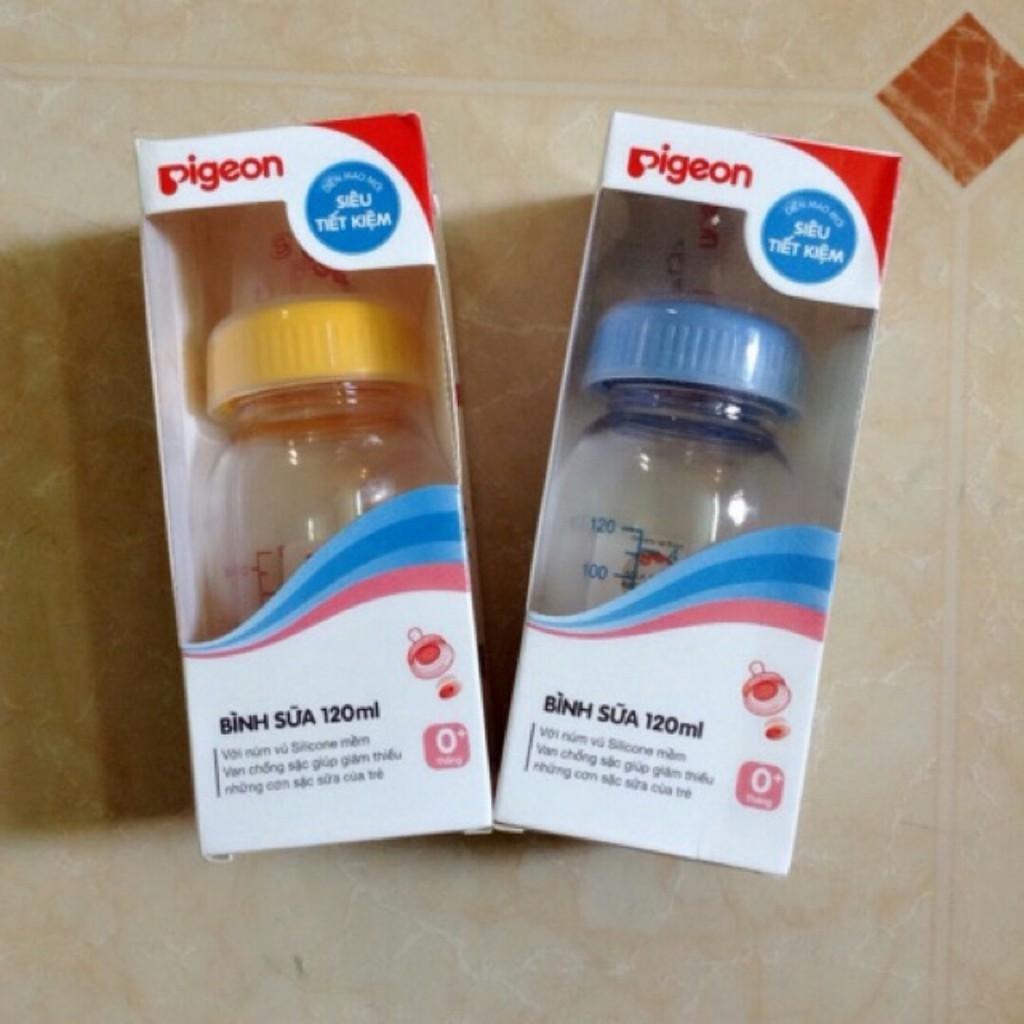 SỈ LẺ Bình sữa Pigeon Việt Nam 120ml (cổ thường)
