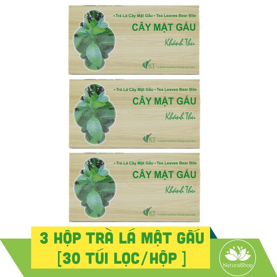 Bộ 3 hộp trà lá cây mật gấu Khánh Thu 30 túi lọc/hộp - 2420243 , 517683256 , 322_517683256 , 176000 , Bo-3-hop-tra-la-cay-mat-gau-Khanh-Thu-30-tui-loc-hop-322_517683256 , shopee.vn , Bộ 3 hộp trà lá cây mật gấu Khánh Thu 30 túi lọc/hộp