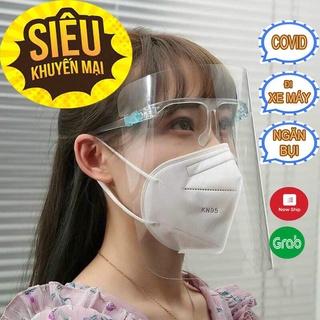QUẬN 10 .Kính bảo hộ chống dịch-Kính chống giọt bắn Face Shield-Chống bụi, không động hơi nước, nhẹ và hiệu quả.