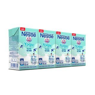 Hình ảnh [Mã GRO1NEST07 giảm 15% đơn 150K] Lốc 4 hộp sữa chua uống Nestlé Yogu có chứa tổ yến 115ml/hộp-0