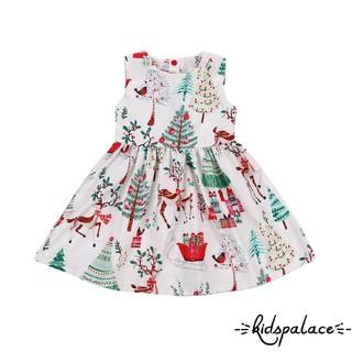 Christmas Baby Kids Girl Dress