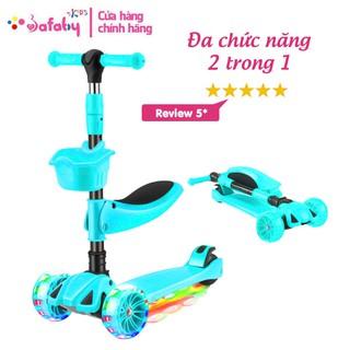 [TOY345] Xe Trượt Cho Bé-Scooter, Xe Scooter Cho Bé Giữ Thăng Bằng Cực Tốt - Bafaby Kids thumbnail