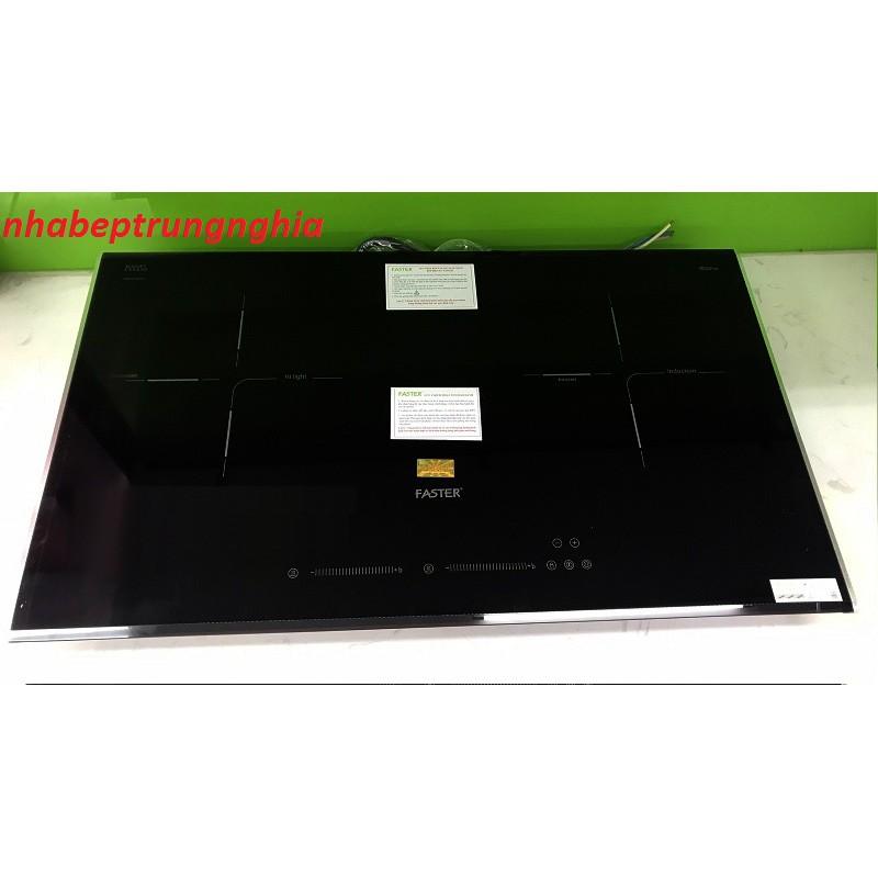 Bếp điện từ Faster FS 744HM nhập khẩu Malaysia, bếp điện từ đôi, bếp từ hồng ngoại, bếp hỗn hợp điện từ