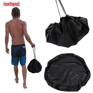 {lanfiguji}Durable Portable Clothes Storage Bag Swimming Waterproof Change Bag LTW