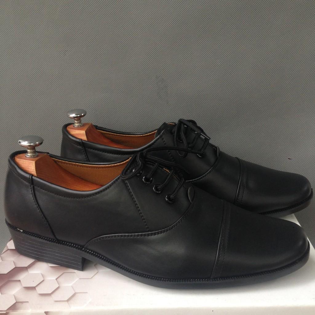 XƯỞNG SẢN XUẤT Giày nam kiểu quân nhu dây cột - GN28