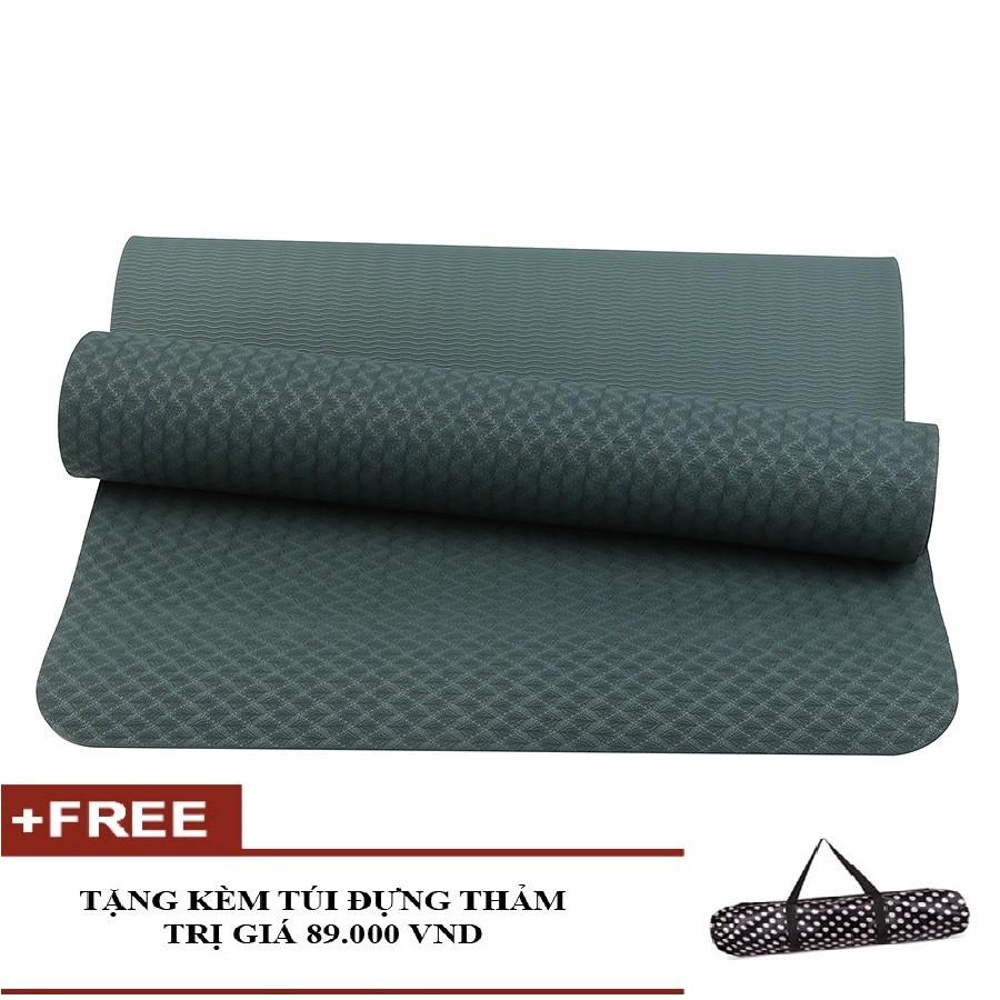 Thảm tập Yoga Eco TPE 1 lớp 8mm