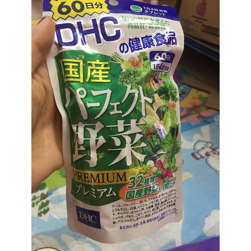 Viên uống rau củ quả D HC Nhật Bản