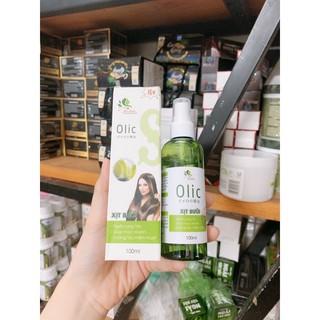 chai xịt dưỡng tóc-bưởi olicc giúp mọc tóc giảm rụng 100ml