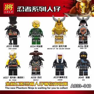 Bộ Đồ Chơi Lego Lắp Ráp Phantom Ninja Cho Bé Trai 3-6 – 10 Tuổi