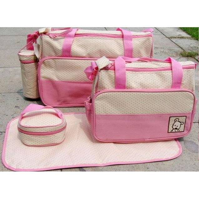 Set túi 5 chi tiết mẹ và bé - 9986380 , 444771764 , 322_444771764 , 168000 , Set-tui-5-chi-tiet-me-va-be-322_444771764 , shopee.vn , Set túi 5 chi tiết mẹ và bé