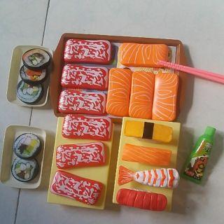 Bộ đồ chơi món ăn Sushi 25 món