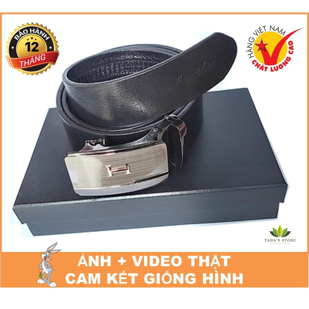 [BH 12 THÁNG] Thắt Lưng Nam Da Bò Thật Miu Chất Lượng Cao Cấp Bảo Hành 12 Tháng