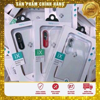 Ốp Totu trong suốt nhựa cứng cùng viền bảo vệ camera Iphone 7 8 7p 8p X XSmax thumbnail
