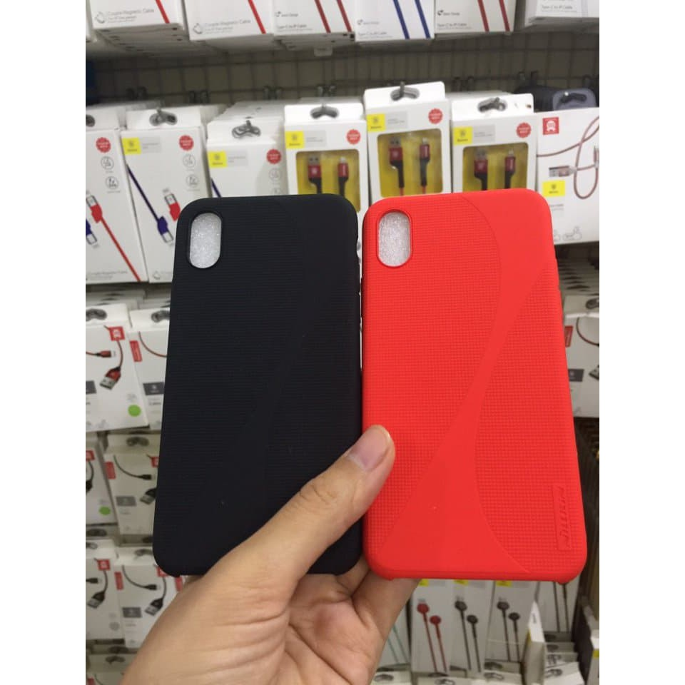 [Iphone X] Ốp lưng Nillkin Silicon Flex Case