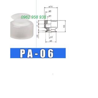 Giác hút chân không công nghiệp bộ 10 Núm hút cao su PA_06