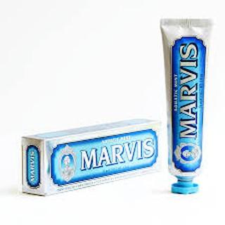 Kem đánh răng Marvis – Aquatic Mint ( màu xanh nước biển) 85g/tuýp