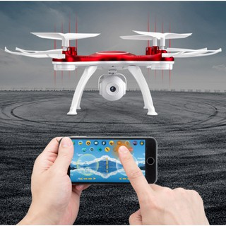 Máy bay Flycam TXD 3S Máy bay 4 cánh điều khiển, Camera HD, kết nối wifi với điện thoại