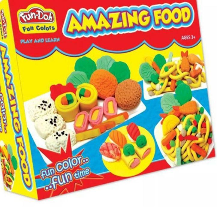 Nến đồ chơi hình thức ăn cho bé