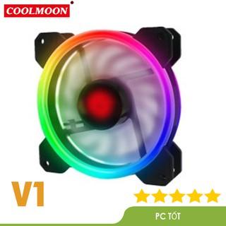 Quạt Tản Nhiệt, Fan Led RGB Coolmoon V1 - Đồng Bộ Hub Coolmoon thumbnail