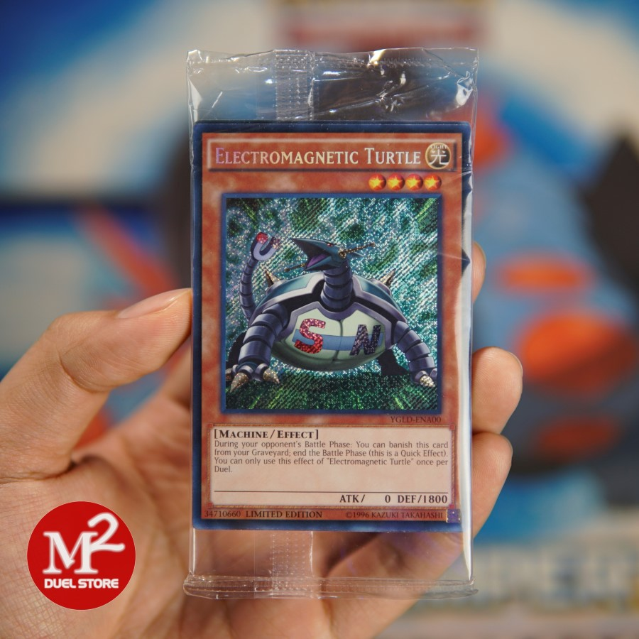 Túi thẻ bài Yugioh Promo 10 lá bài của hộp Yugi's Legendary Decks 2019 - Nguyên sealed - Gồm vị thần Osiris Obeli
