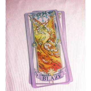 Blaze- Thẻ bài Sakura trong suốt-Sakura clear card