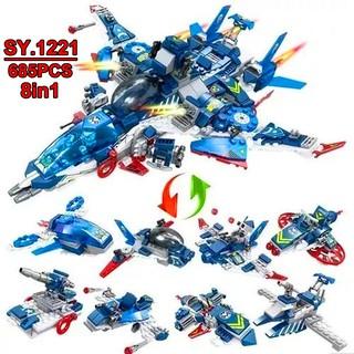 Bộ Lego Xếp Hình Ninjago Biệt Đội Siêu Anh Hùng (Avengers). Gồm 685 Chi Tiết. Lego Ninjago Lắp Ráp Đồ Chơi Cho Bé.