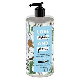 Sữa Dưỡng Thể Love Beauty & Planet Lusious Hydration Phục Hồi Da Thiếu Ẩm 400ml thumbnail
