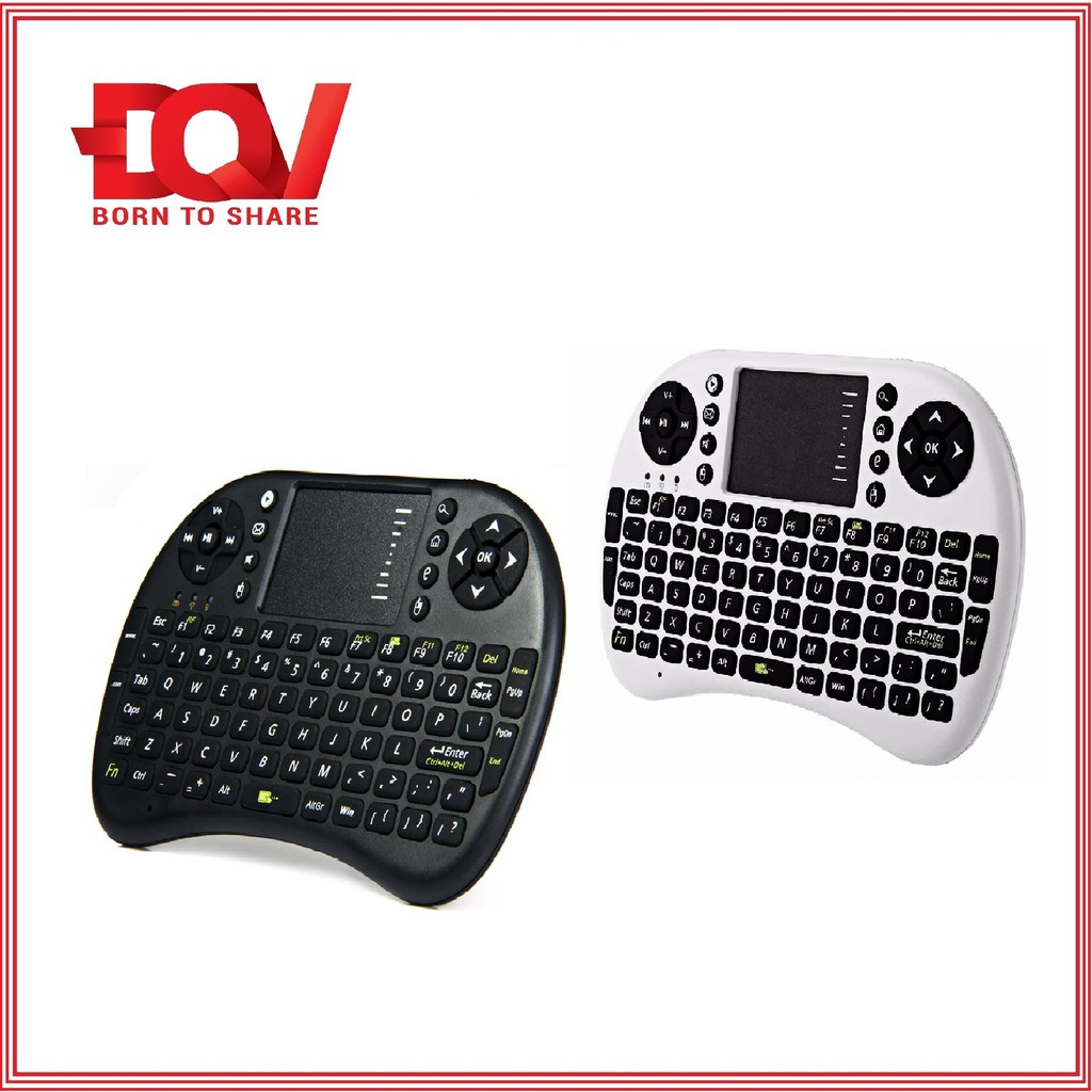 Bàn phím chuột không dây Mini cho Smart TV dùng pin sạc - 10059317 , 243113118 , 322_243113118 , 159000 , Ban-phim-chuot-khong-day-Mini-cho-Smart-TV-dung-pin-sac-322_243113118 , shopee.vn , Bàn phím chuột không dây Mini cho Smart TV dùng pin sạc