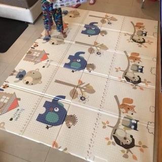 Thảm xốp gấp gọn 2 mặt, 1m8x2m